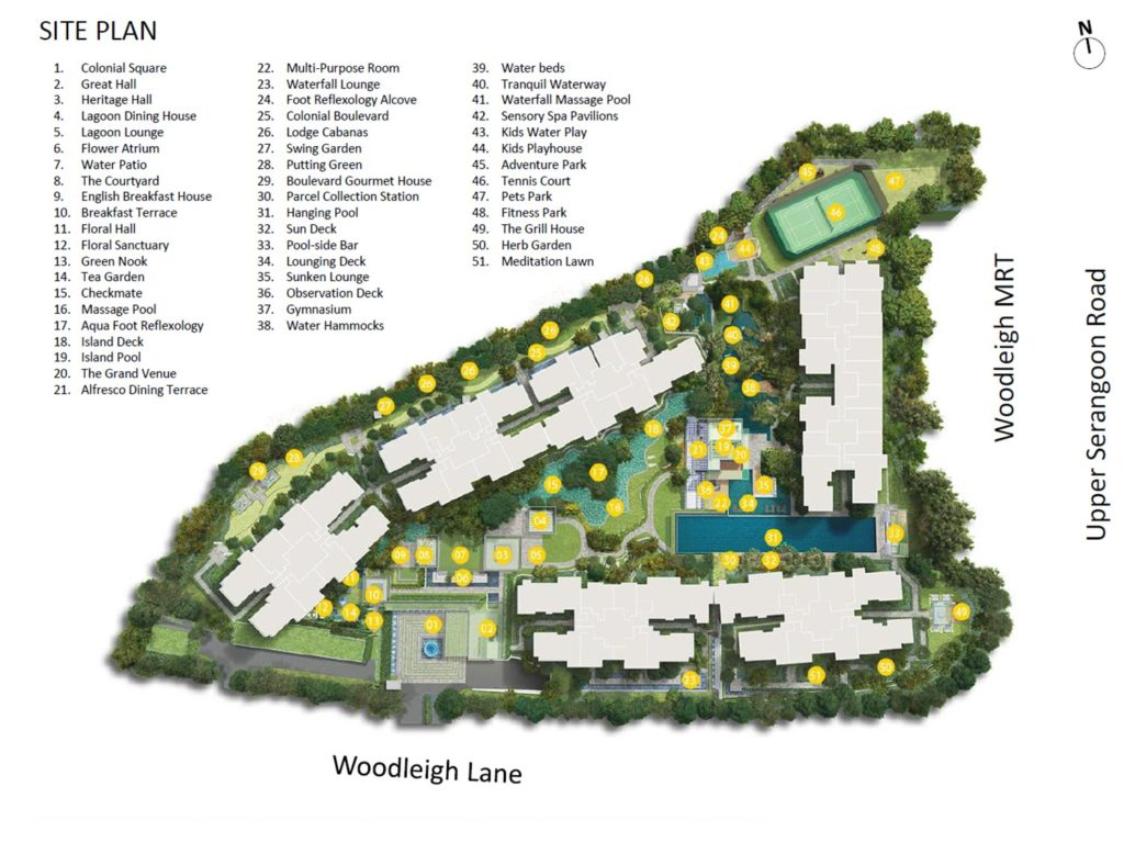 Park Colonial Siteplan